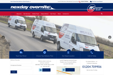 Nexday Overnite Ltd - Courier services Bolton