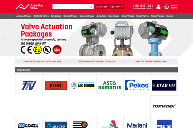 Actuation Valve & Control - Other installations, systems Liverpool