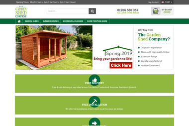 The Garden Shed Company -  Colchester
