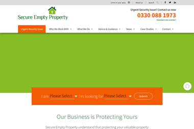 Secure Empty Property - Security services Rossendale