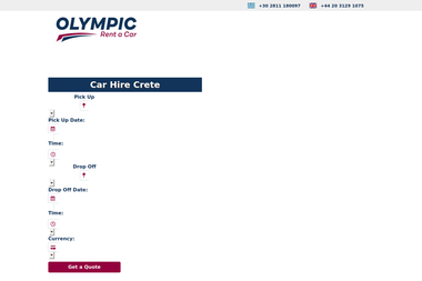 Olympic Rent a Car - Transport of persons London