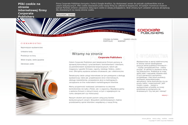 Corporate Publishers - Packaging Warszawa